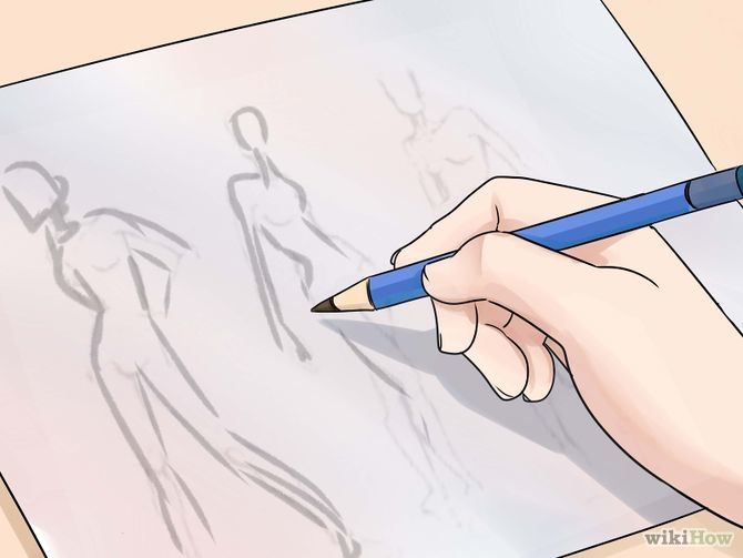 670px Draw Fashion Sketches Step 2 Version 2